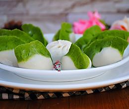 牛肉馅翡翠饺子的做法