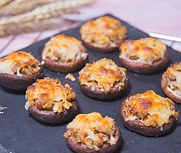 芝士焗香菇的做法