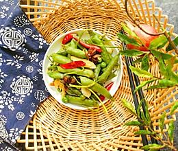 水煮五香豌豆的做法