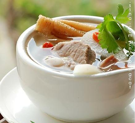 火腿山药排骨汤的做法