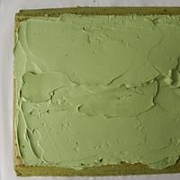 抹茶奶油蛋糕卷的做法图解26