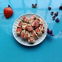 草莓雪花酥的做法圖解9