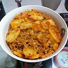 韩式炒拉面年糕