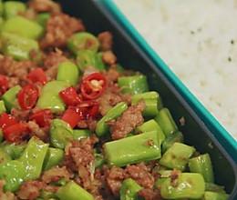 国民下饭菜,肉末豆角!的做法