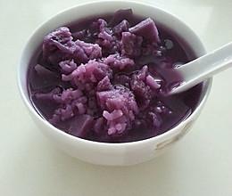 紫署粥的做法
