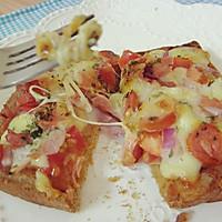简易培根火腿披萨的做法图解5