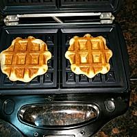 全麦夹心华夫饼(低脂酵母版)的做法图解8