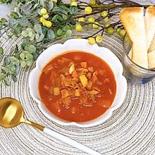 意式蔬菜浓汤冬日里的首选