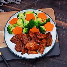 #美味烤箱菜,就等你来做!#蜜汁鸡胸肉