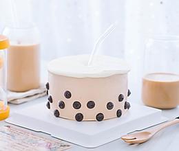 珍珠奶茶蛋糕的做法