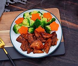 #美味烤箱菜,就等你来做!#蜜汁鸡胸肉的做法