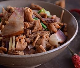 围山公社浏阳菜:萝卜干炒腊肉的做法