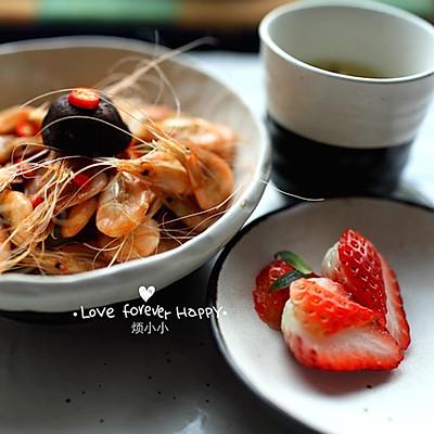 煸炒白虾【家的味道】