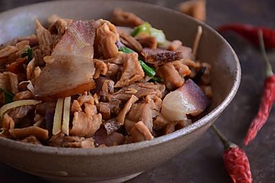 围山公社浏阳菜:萝卜干炒腊肉