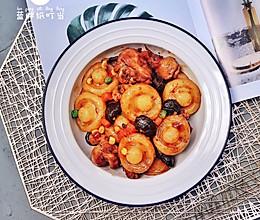 营养均衡,健康美味|香菇鸡腿炖土豆蘑菇的做法
