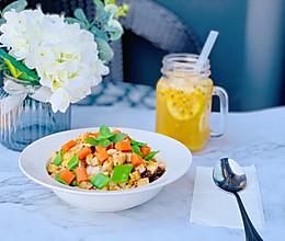 #美食新势力# 糙米鸡胸胡萝卜沙拉的做法