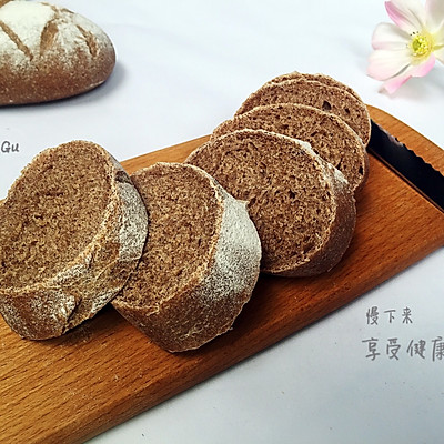 无糖黑麦面包