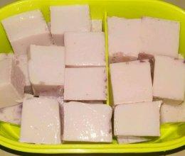 自制紫薯牛奶小布丁的做法