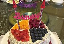 生日蛋糕#豆果5周年#的做法