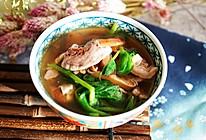 安神助眠的豌豆尖猪心汤的做法