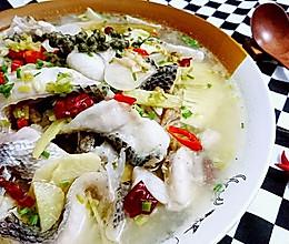 酸萝卜青花椒鱼-蜜桃爱营养师私厨的鱼料理-健身减肥食谱的做法