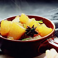 蚝油烧冬瓜#今天吃什么#