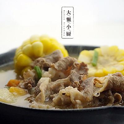 营养好搭配——肥牛蔬菜汤