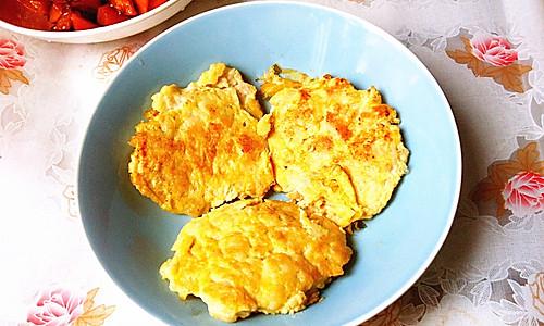 鸡蛋肉饼的做法
