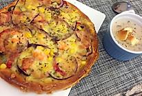 鲜虾火腿意大利口味披萨的做法