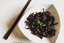 糖醋茶树菇的做法