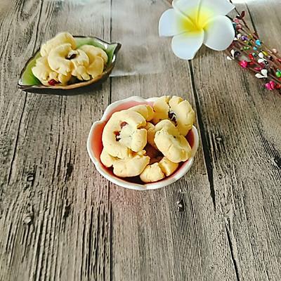 蔓越莓玛格丽特饼干(少油版)