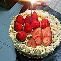 榴莲草莓芝士慕斯蛋糕的做法图解9