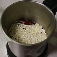 #白色情人节限定美味#自制蒸米粉-粉蒸茼蒿菜的做法图解6
