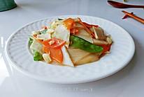 蒜香山药荷兰豆的做法