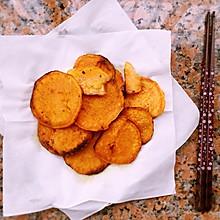 电饼铛烤红薯片