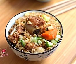 排骨焖饭#铁釜烧饭就是香#的做法