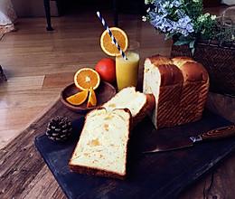 橙香蜂蜜卡仕达吐司的做法