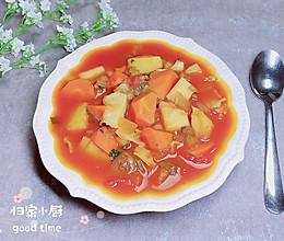 #晒出你的团圆大餐#养生罗宋汤的做法