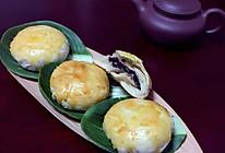 椒盐黑芝麻香酥饼的做法