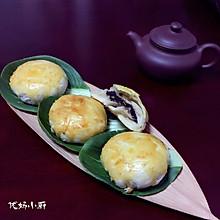 椒盐黑芝麻香酥饼