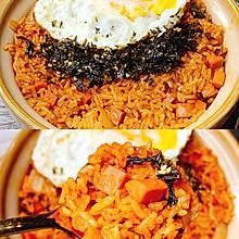 ✨好吃到停不下来❗️韩式辣白菜火腿炒饭