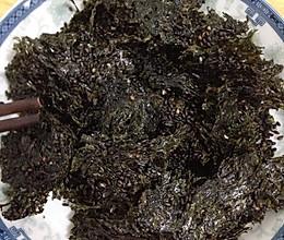 麻油紫菜—宝宝的健康小零食的做法