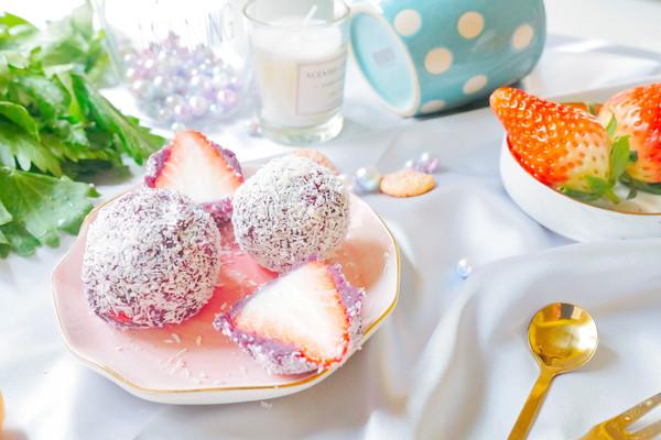 草莓大福&糖葫芦的做法