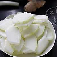 冬瓜汆丸子汤的做法图解6