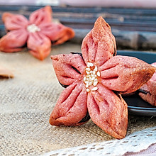桃花酥(自制枣泥馅儿)#中式点心开启你的回忆#