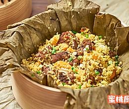 小米蒸排骨的做法