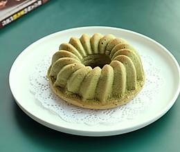 抹茶桂花蛋糕的做法