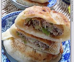牛肉大葱馅饼的做法