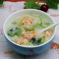 虾仁菠菜粥的做法图解9