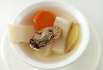 补钙食谱   三白牡蛎汤,促进骨骼生长,防止骨质疏松的做法